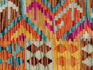 Afghansk kelim tæppe