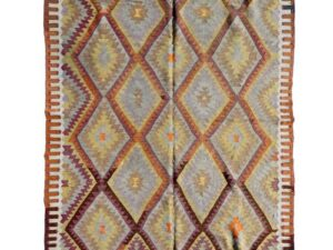 Tyrkisk kelim tæppe