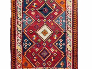 Iransk Kasquai kelim tæppe