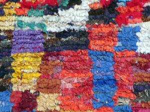 Marokkansk Kludetæppe tæppe