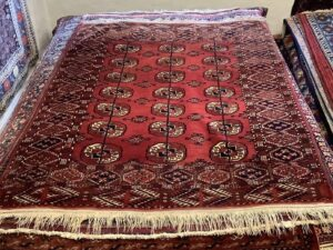 Turkmensk Tekke tæppe