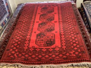 Afghan Bochara tæppe