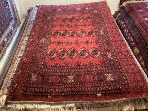 Turkmensk Ersari Chuval tæppe