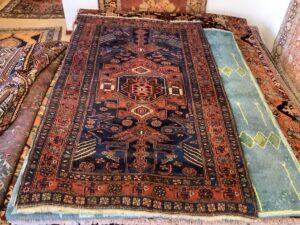 Iransk vintage Hamadan tæppe