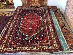 Iransk Djozan tæppe