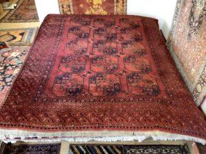 Afghansk Bochara tæppe