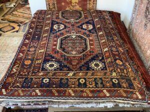 Kaukasisk shirvan, antik tæppe