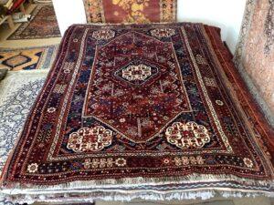 Vintage persisk Kasquai tæppe