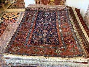 Iransk Hamadan, vintage tæppe
