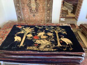 Kinesisk Pao-Tou, antik tæppe