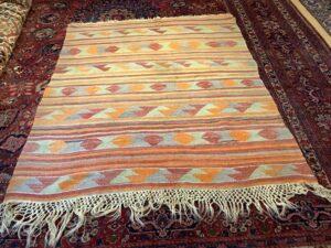 Tyrkisk Capadocia kelim tæppe