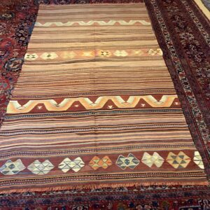 Tyrkisk Konya Kelim tæppe