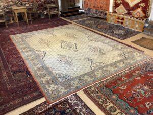 Vintage persisk Qum tæppe